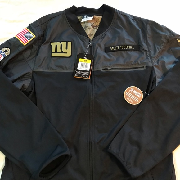 7728f9c68 NIKE NY Giants Salute to Service Jacket Small. M 5bd81e3e819e900a5f08868b